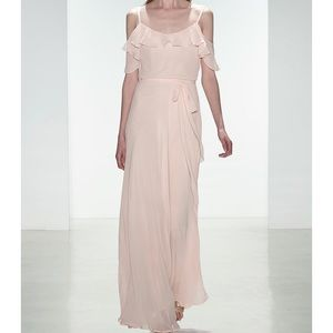 Novelle Amsale bridesmaids dress